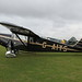 G-AIYS DH85 Leopard Moth on 2 September 2016 Sywell