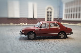 Saab 99 scale 1:43 | by www.MODELCARWORKSHOP.nl