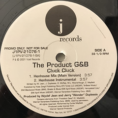 THE PRODUCT G&B:CLUCK CLUCK(LABEL SIDE-A)