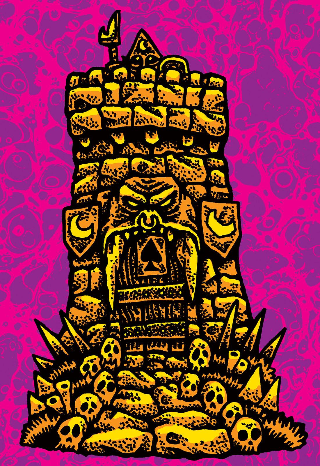 Sean Aaberg - Dungeon Degenerates - Tower