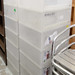 Tall plastic drawers E30