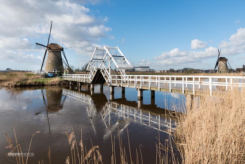 Nederwaard Molen no.2 in Kinderdijk