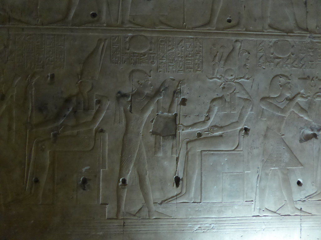Wall Reliefs, Abydos
