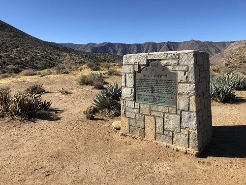 Borrego Springs - Box canyon notes