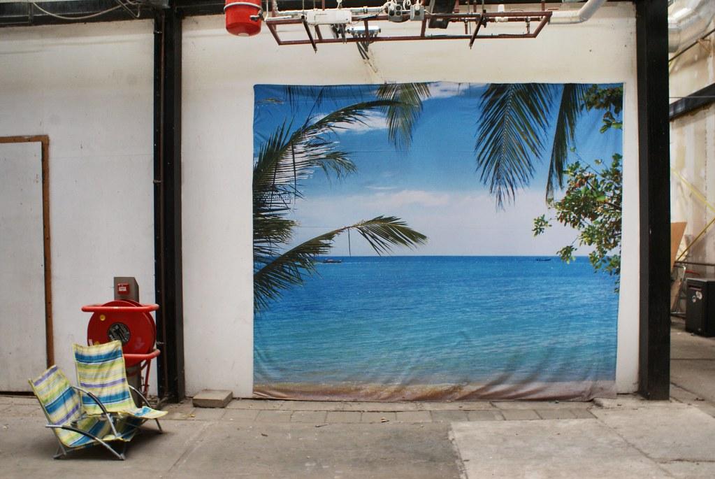 Les Bahamas à Amsterdam dans l'Art Factory de la NDSM.