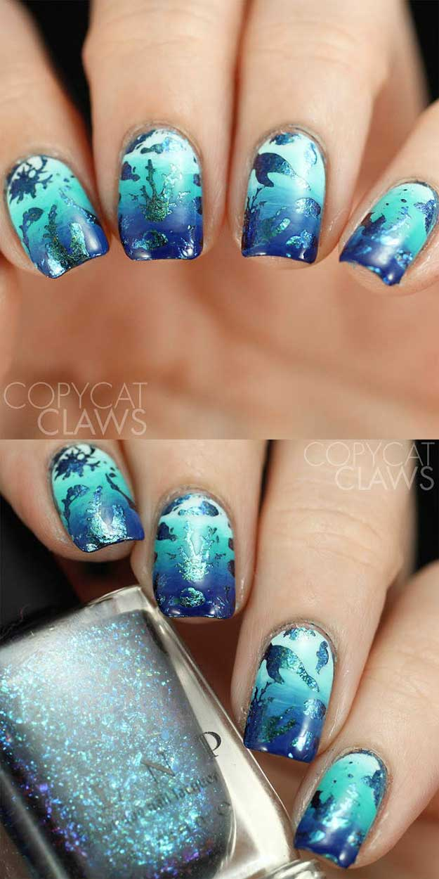 65 Awesome Nail Designs for Spring And Summer - Nails C