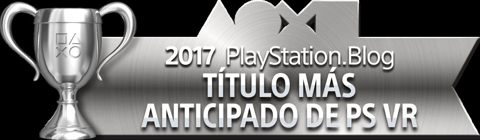 PlayStation Blog Game of the Year 2017 - Most Anticipated PS VR Title (Silver)