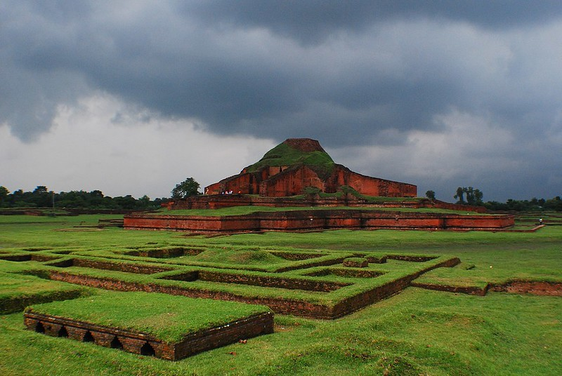 A view of Somapura Mahavihara