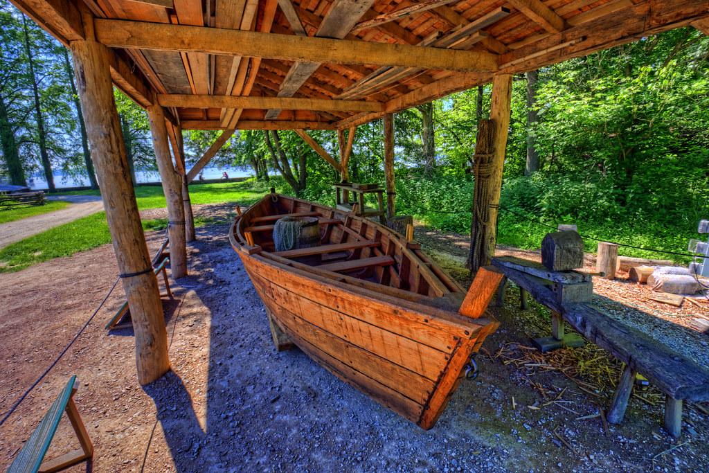 Mount Vernon: Batteau boat