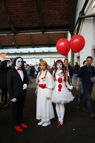 horror cosplayers