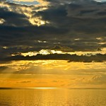 5. August 2014 - 23:38 - golden sunset