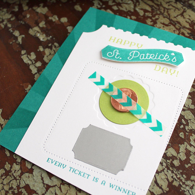 Lizzie Jones Lucky Penny St. Patrick's Day Card 2