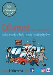 Quizá un poco ruidoso  #laidiomeria #callaround #airport #aeroporto #aeropuerto #hotel #phrasalverbs #cheap #car #sleeping #coche #auto #dormir #dormire #divertente #funny