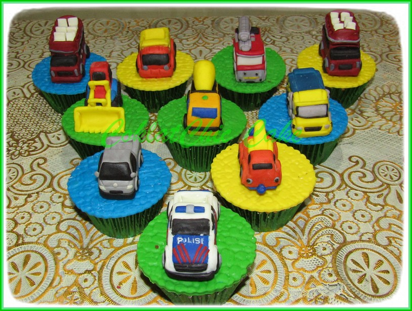 Cupcake set Transportation