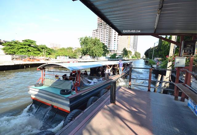 bangkok itinerary canal boats