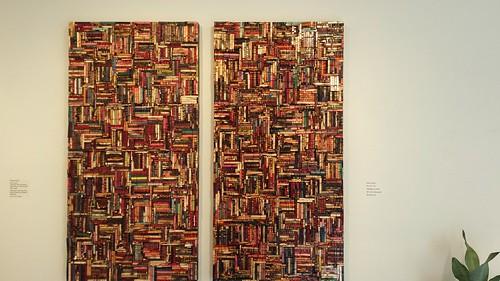 Davis Choun - Artspace - incredible work constructed of clothespins