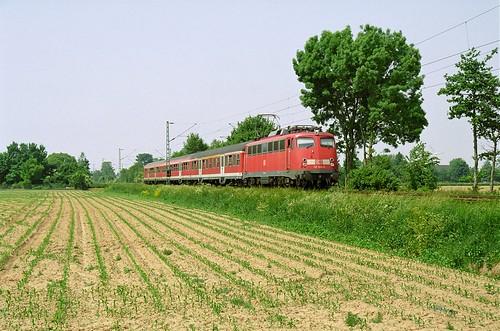 DB 110 504-8 Frasselt
