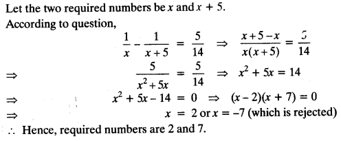 Quadratic Equations Chapter Wise Important Questions Class 10 Mathematics 71