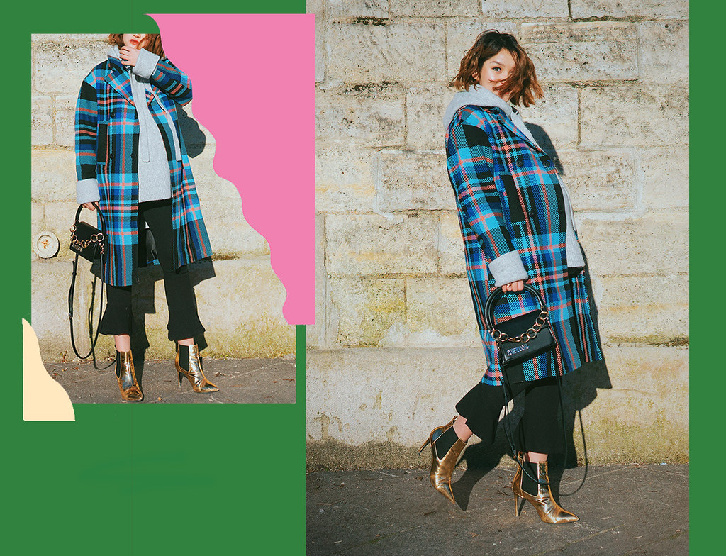 topshop-check-coat