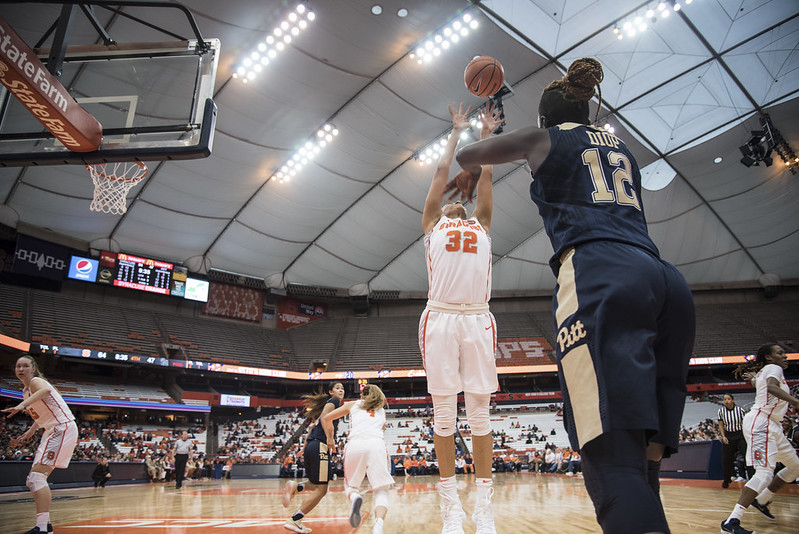 SU Women's Basketball v. Pittsburgh