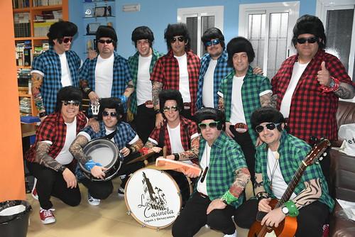 Ensayo general de agrupaciones de Carnaval en el Club Vistazul