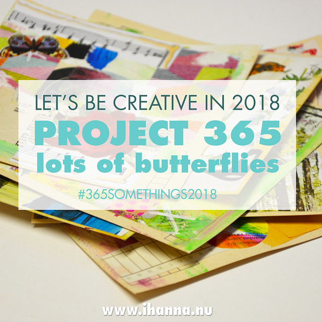 It's about Butterfly Collage: 365 Collages in 2018 Week 3 by iHanna #365somethings2018 #butterfly #art
