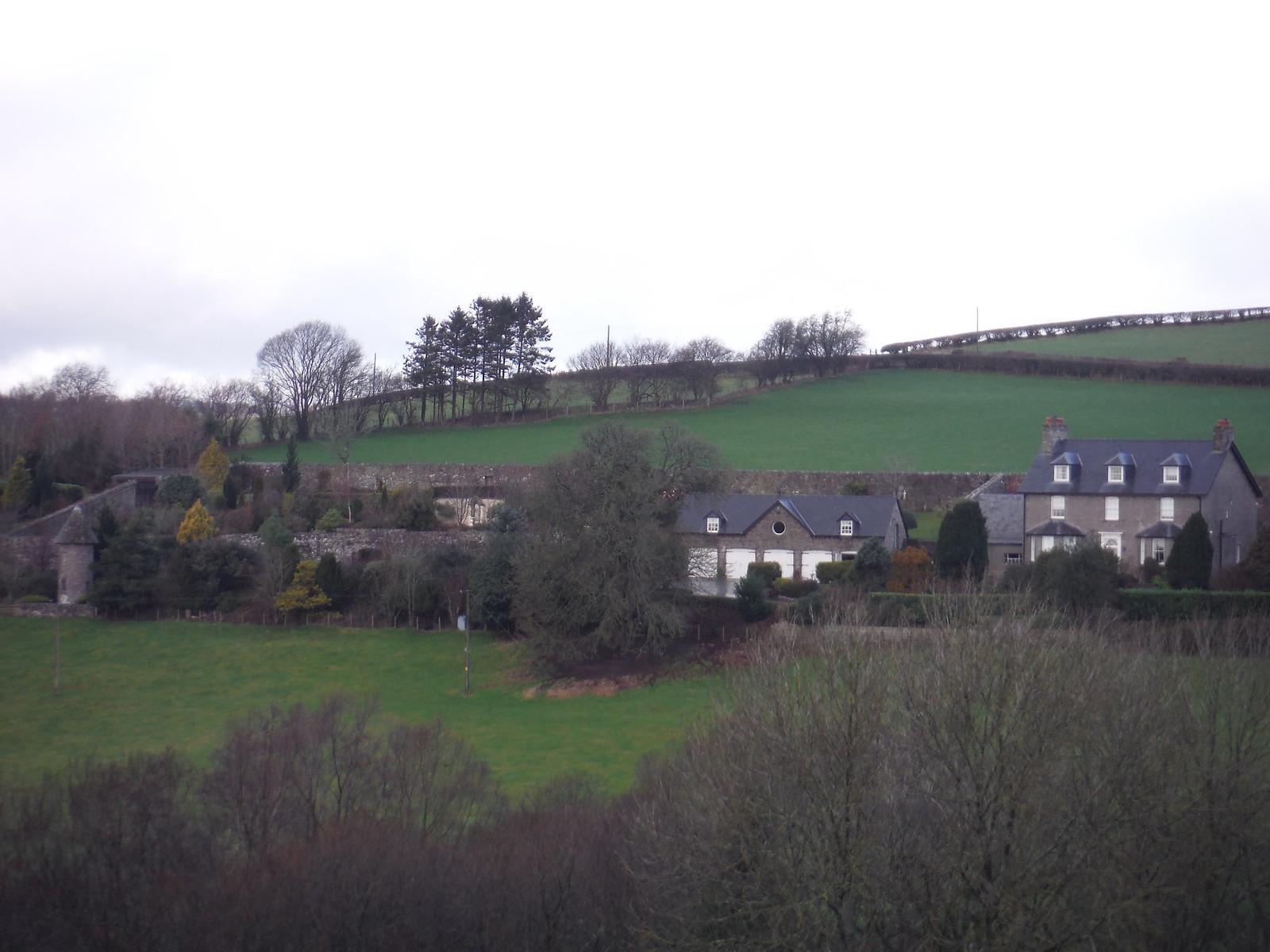 Walled Garden, Battle End Farm SWC Walk 306 - Brecon Circular (via Y Gaer, Battle and Pen-y-crug)