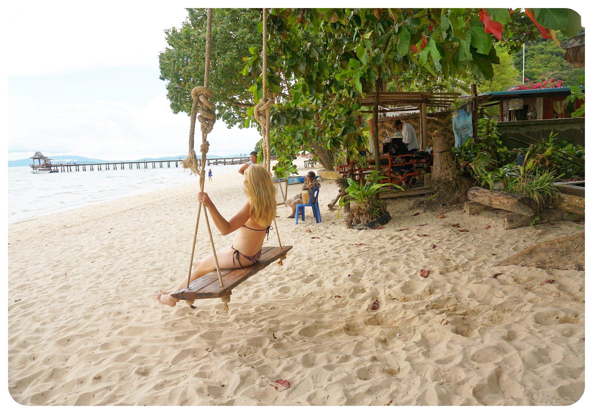 thailand koh yao yai swing