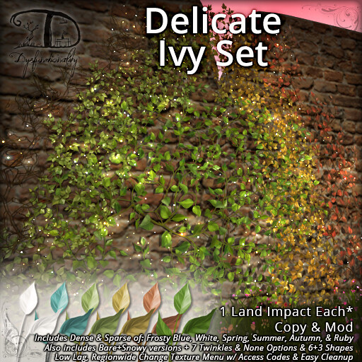 Delicate Ivy @ Blush!