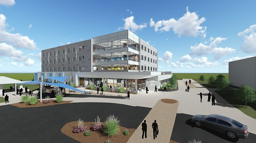 Academic and Residence Hall Renderings