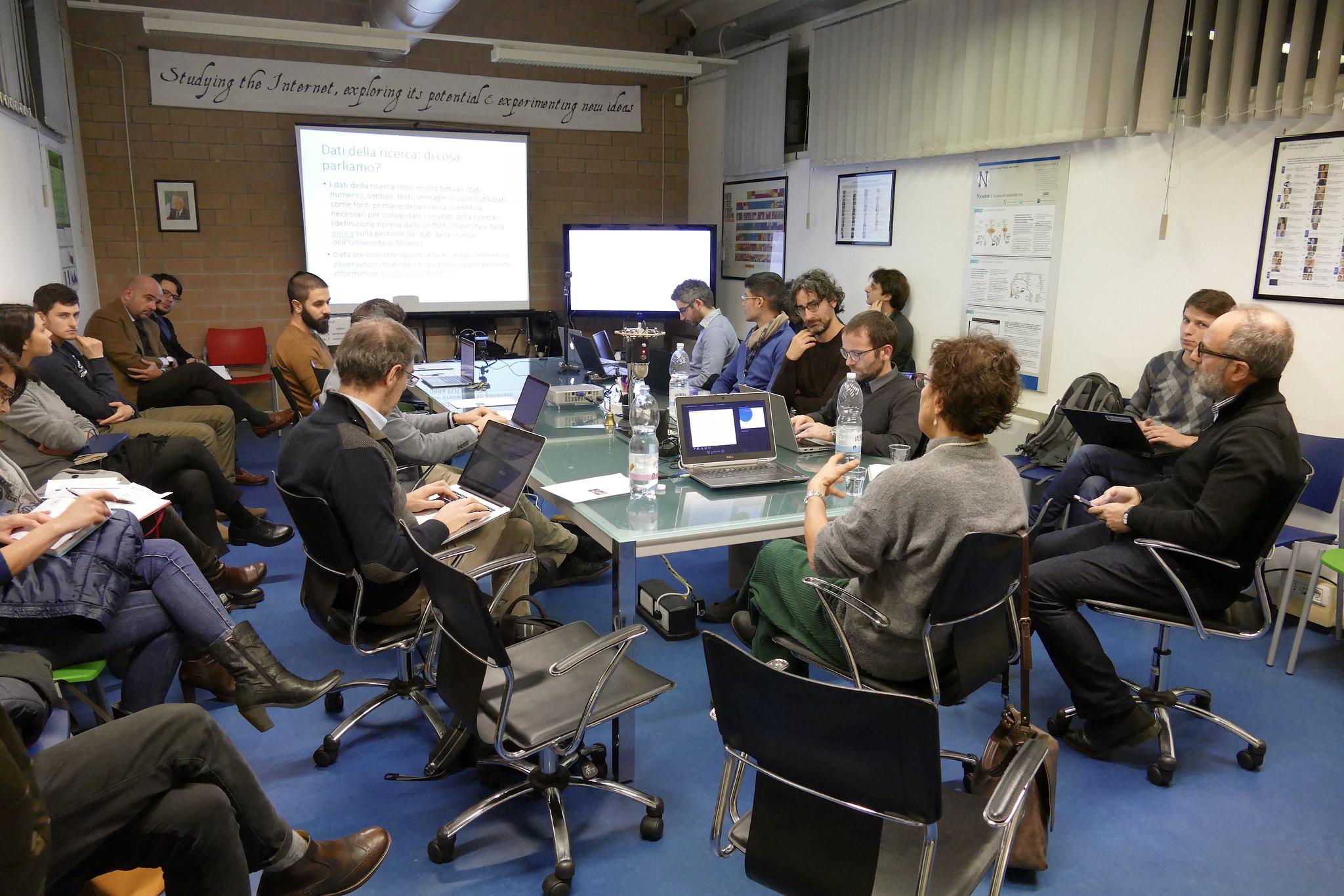 104° Mercoledì di Nexa - I dati della ricerca e il loro utilizzo: le iniziative in corso nel nostro paese