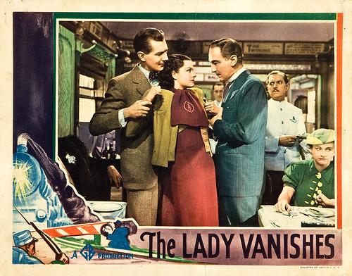 The Lady Vanishes - 1938 - lobbycard 3