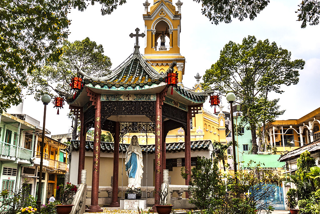 Cha Tam Church--Saigon