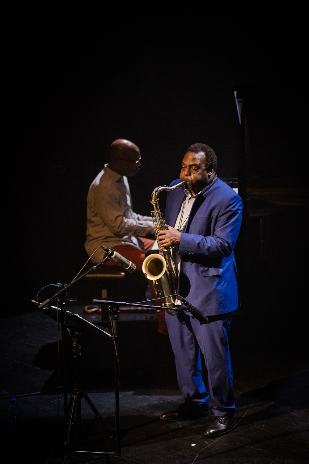David Murray Quartet feat Saul Williams-7653