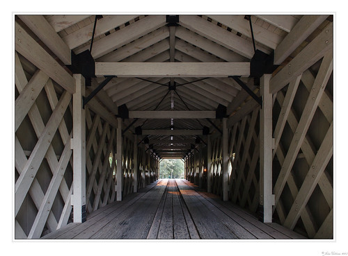 Hurricane Shoals Covered Bridge