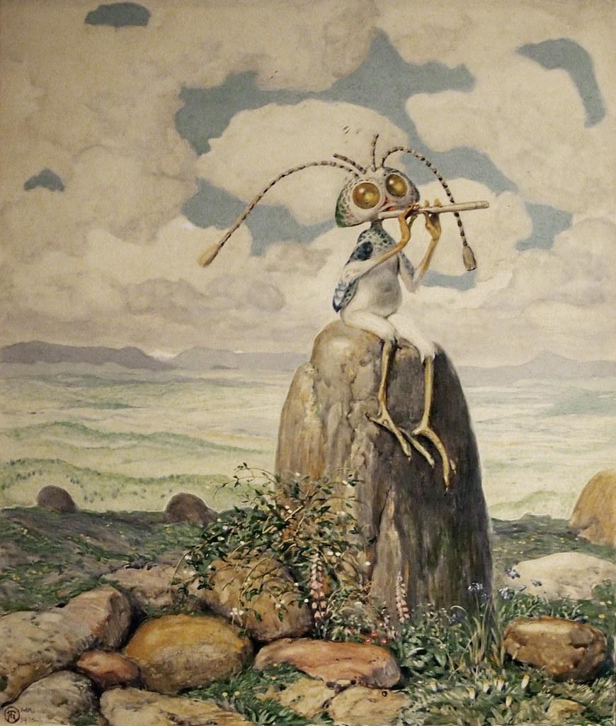 Richard Teschner - Zipizip, 1916