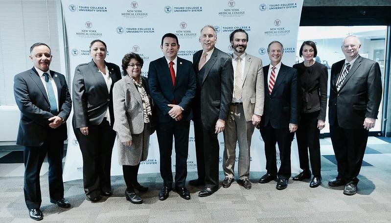 President of Guatemala Jimmy Morales @ NYMC