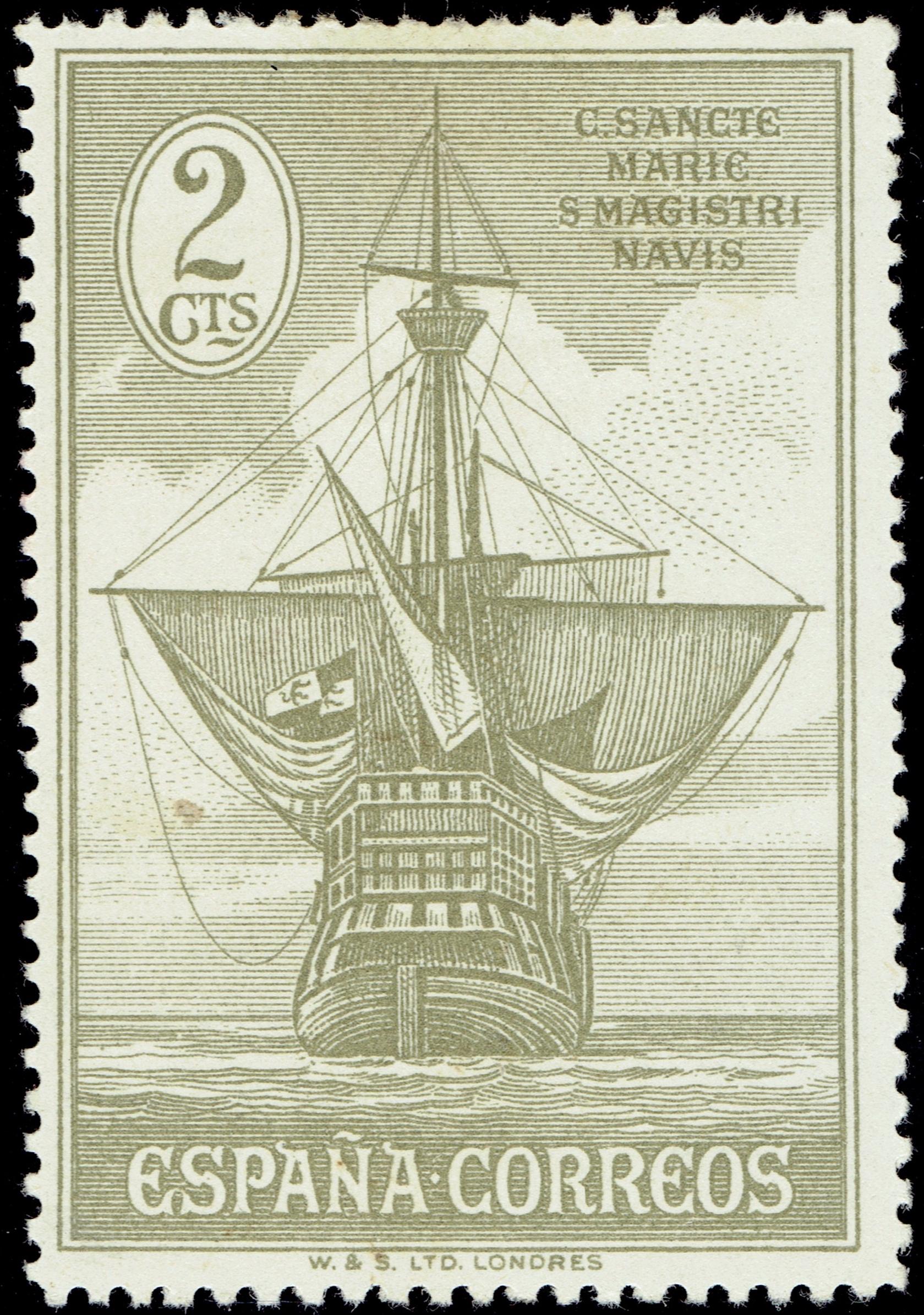 Spain - Scott #419 (1930)