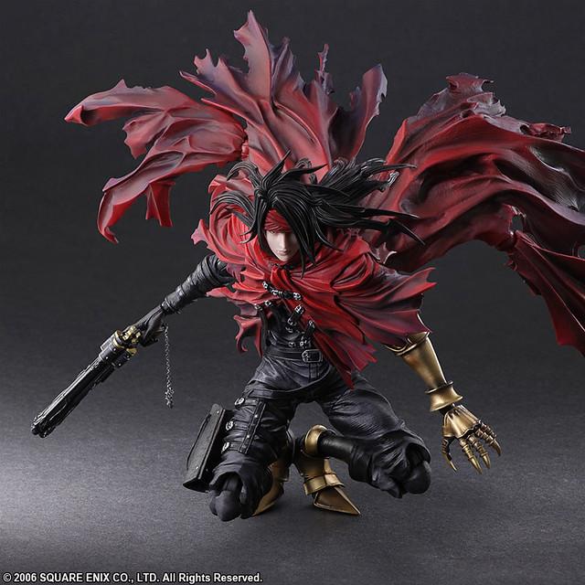 PLAY ARTS改《地獄犬的輓歌 -Final Fantasy VII-》文森特·瓦倫汀(ヴィンセント・ヴァレンタイン)