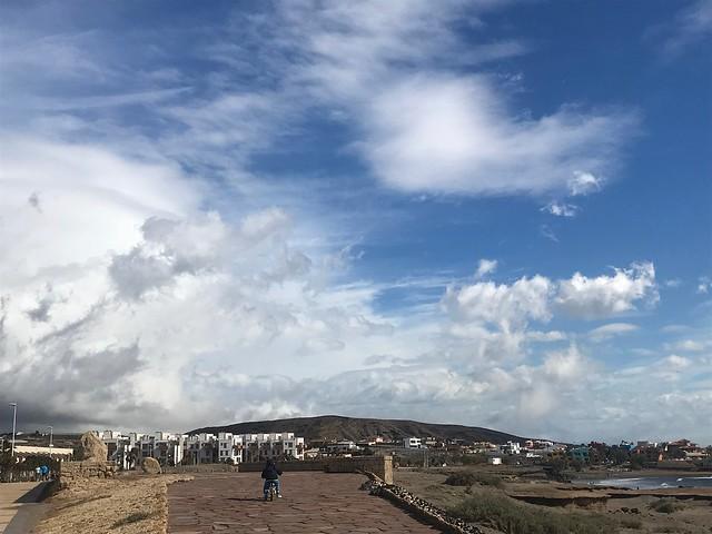 El Médano. Sky
