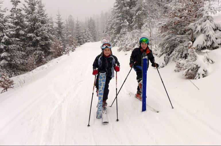 Ze života lyžařských dobrodruhů