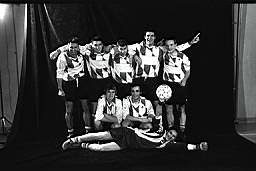 Fotoshooting - 1. Mannschaft 2000
