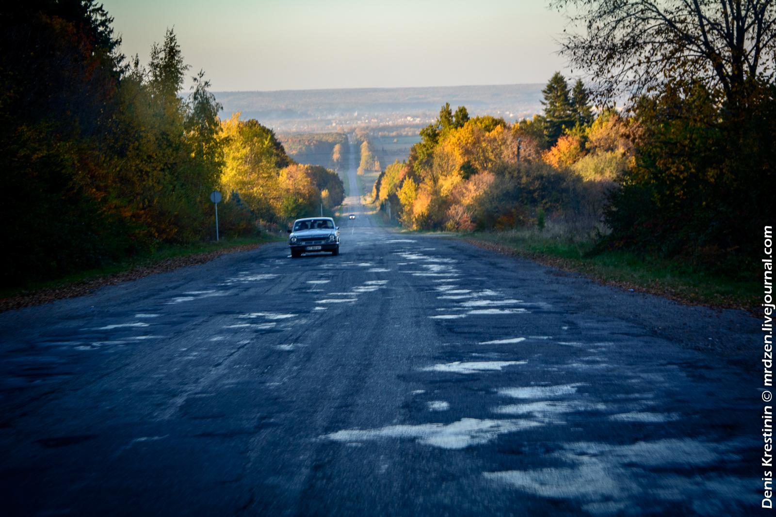 Україна.  По дорозі в Карпати.