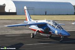 E31 5 F-TERK - E31 - Patrouille de France - French Air Force - Dassault-Dornier Alpha Jet E - RIAT 2010 Fairford - Steven Gray - IMG_8094