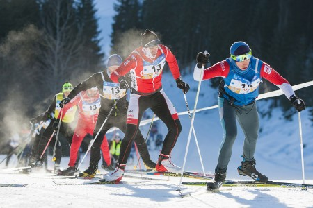 Krkonošská 70 počtvrté vřadě kořistí týmu Kasper SWIX. Mezi ženami nejrychlejší Tygřice.