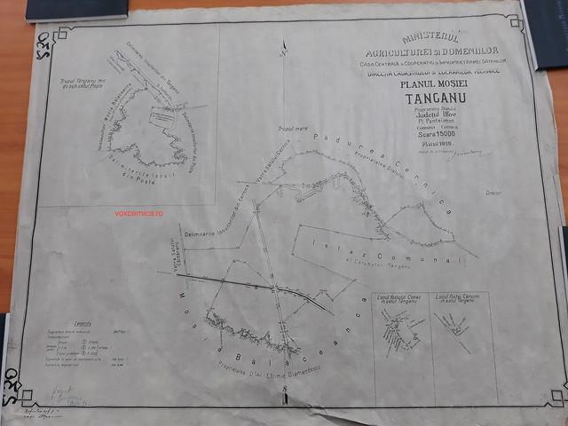 Reforma agrara 1921 in comuna Cernica.