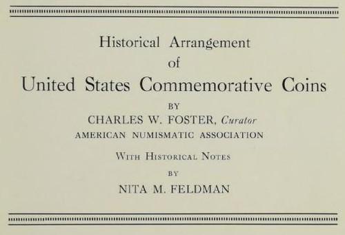 Foster Arranngement of Commemorative Coins