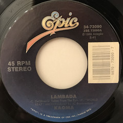 KAOMA:LAMBADA(LABEL SIDE-A)