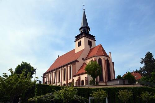 Dreifaltigkeitskirche in Lauterbourg