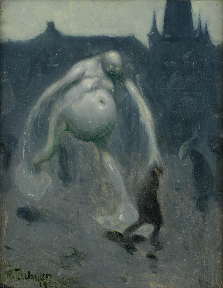 Richard Teschner - Downpour, 1907
